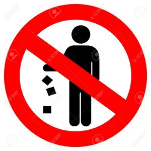14157917-no-littering-red-sign-Stock-Vector-clean
